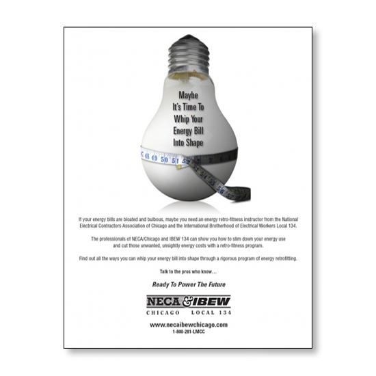 NECA IBEW Fatty Bulb